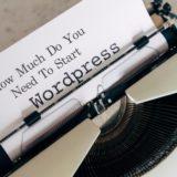 ワードプレスブログの初期費用|無料だけど有料?WordPressブログ開設